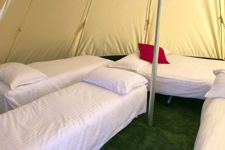 Camping in Ledbury at Pegs Farm
